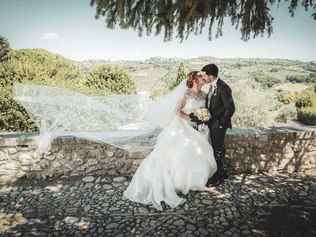 Il matrimonio di Alessio e Claudia a Castelnuovo di Farfa, Rieti 6