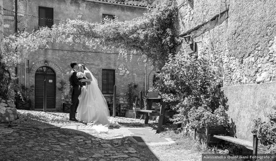 Il matrimonio di Alessio e Claudia a Castelnuovo di Farfa, Rieti