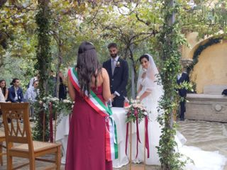 Le nozze di Melania e Rodolfo