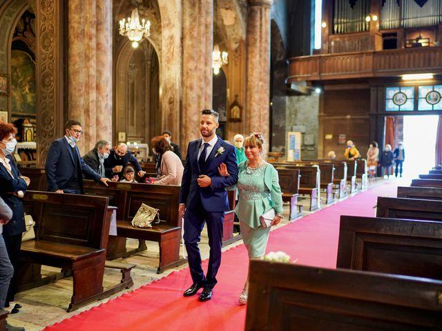 Il matrimonio di Gianluca e Gloria a Vigevano, Pavia 21