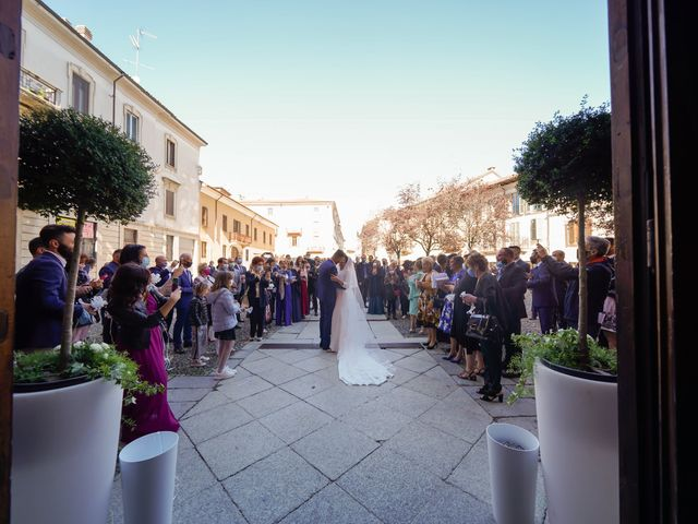 Il matrimonio di Gianluca e Gloria a Vigevano, Pavia 31