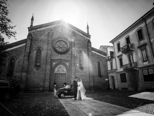 Il matrimonio di Gianluca e Gloria a Vigevano, Pavia 34