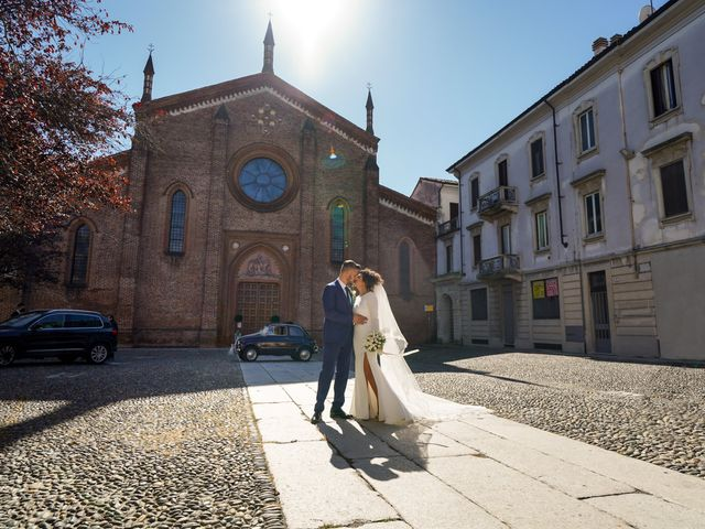 Il matrimonio di Gianluca e Gloria a Vigevano, Pavia 36