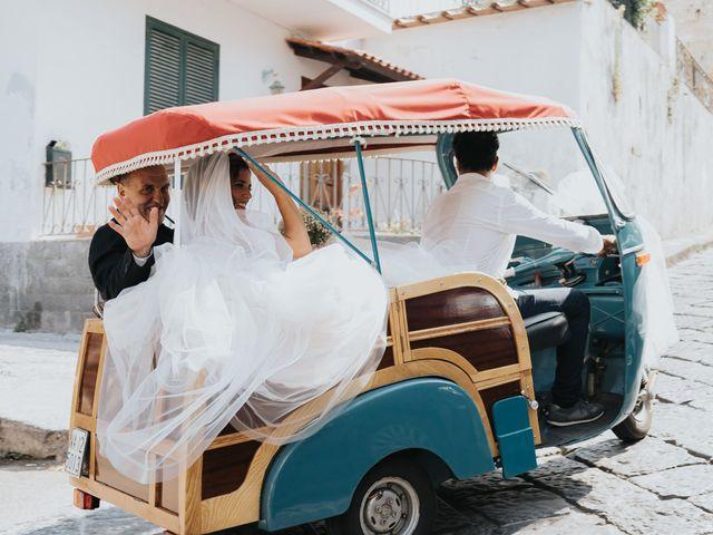 Il matrimonio di Monica e Francesco a Ischia, Napoli 17
