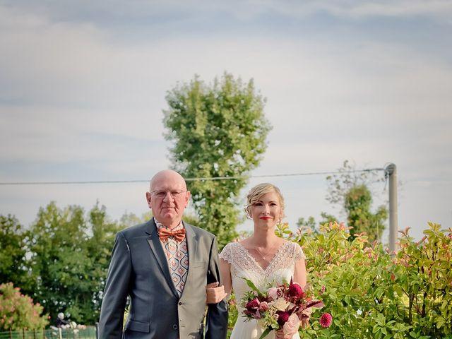 Il matrimonio di Matteo e Camille a San Biagio di Callalta, Treviso 17