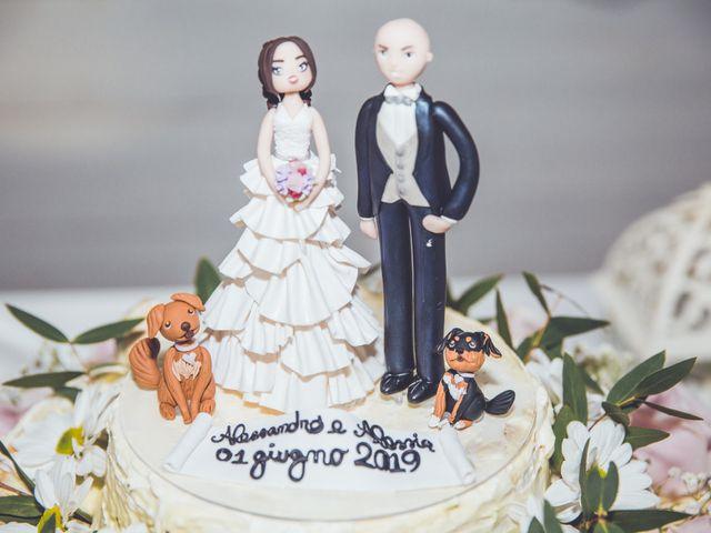 Il matrimonio di Alessandro e Alessia a Sermoneta, Latina 21