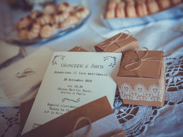 Il matrimonio di Giuseppe e Sara a Gravina in Puglia, Bari 16