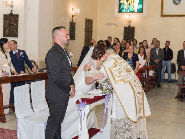 Il matrimonio di Gianni e Sabrina a Perdasdefogu, Nuoro 93