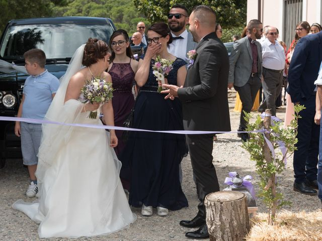 Il matrimonio di Gianni e Sabrina a Perdasdefogu, Nuoro 139