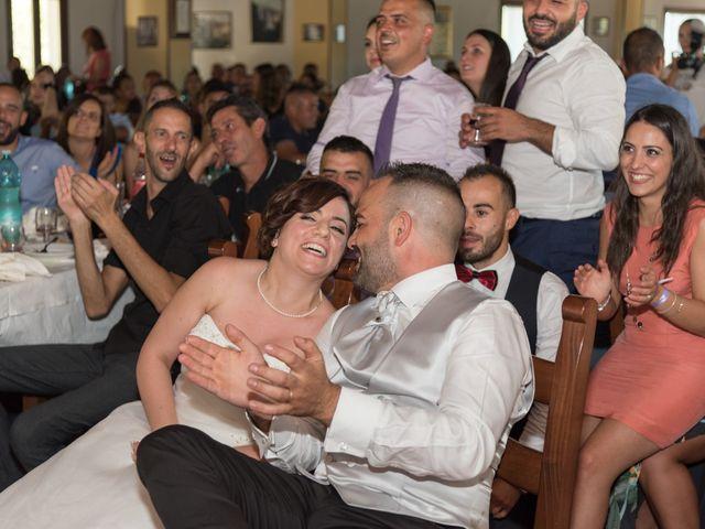 Il matrimonio di Gianni e Sabrina a Perdasdefogu, Nuoro 144