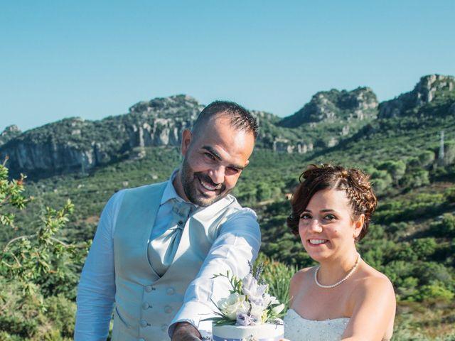 Il matrimonio di Gianni e Sabrina a Perdasdefogu, Nuoro 149