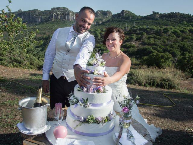 Il matrimonio di Gianni e Sabrina a Perdasdefogu, Nuoro 152