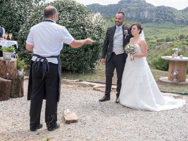 Il matrimonio di Gianni e Sabrina a Perdasdefogu, Nuoro 134
