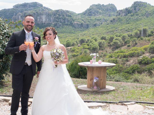 Il matrimonio di Gianni e Sabrina a Perdasdefogu, Nuoro 136
