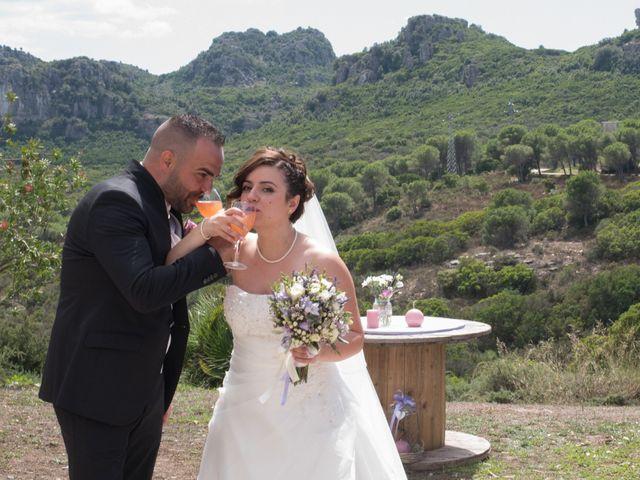Il matrimonio di Gianni e Sabrina a Perdasdefogu, Nuoro 137