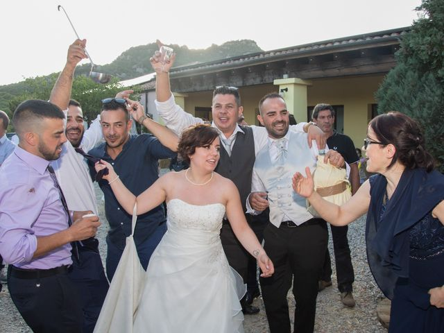 Il matrimonio di Gianni e Sabrina a Perdasdefogu, Nuoro 182