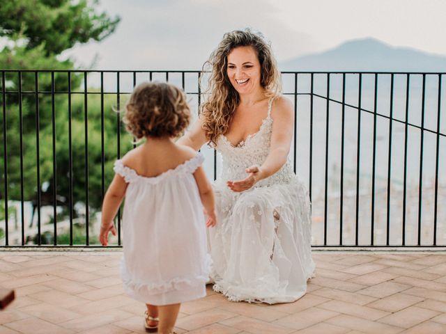 Il matrimonio di Eduardo e Lucia a Vico Equense, Napoli 12