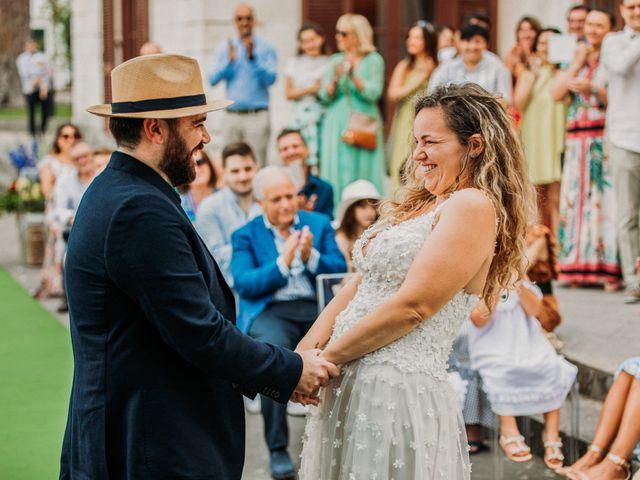 Il matrimonio di Eduardo e Lucia a Vico Equense, Napoli 20
