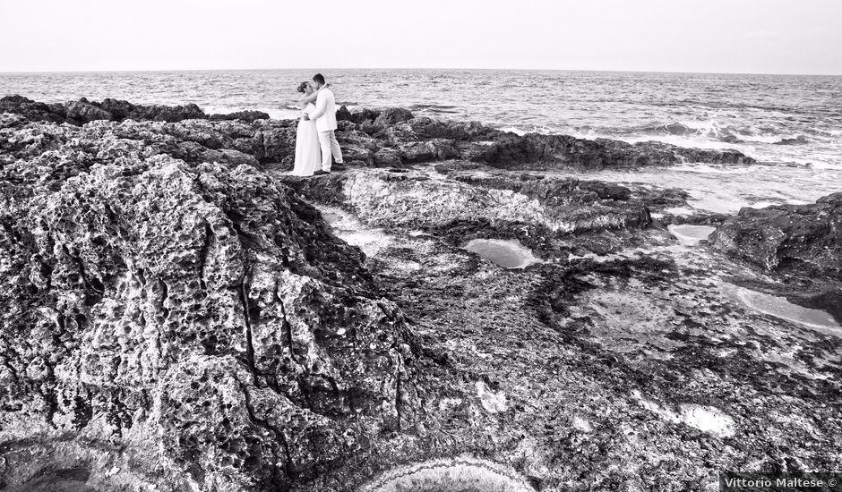 Il matrimonio di Giuseppe e Claudia a Brucoli, Siracusa