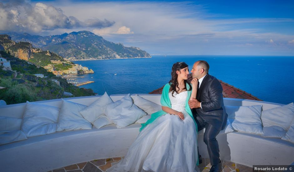 Il matrimonio di Francesca e Bruno a Ravello, Salerno