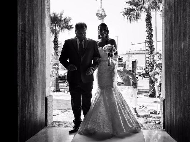 Il matrimonio di Denise e Fabio a Castro, Lecce 13