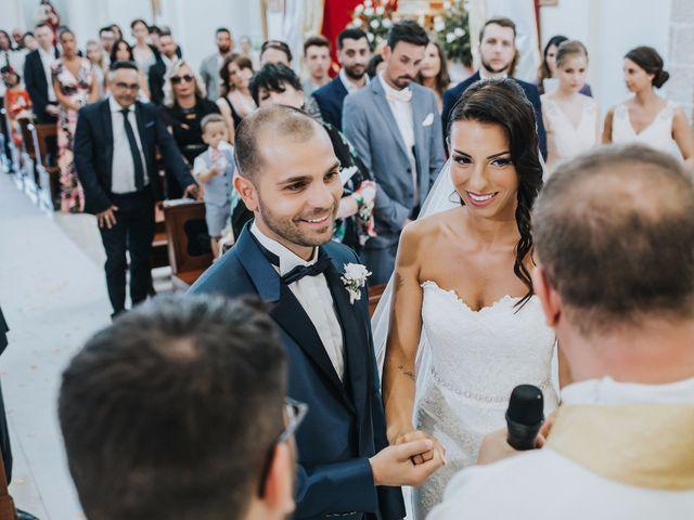 Il matrimonio di Denise e Fabio a Castro, Lecce 14
