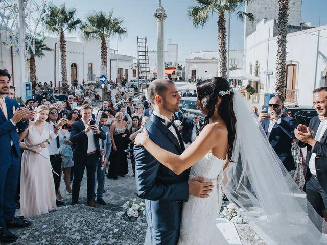 Il matrimonio di Denise e Fabio a Castro, Lecce 19