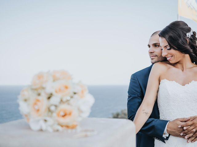 Il matrimonio di Denise e Fabio a Castro, Lecce 1