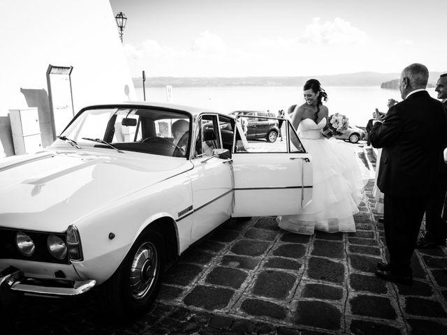 Il matrimonio di Daniele e Valentina a Capodimonte, Viterbo 18