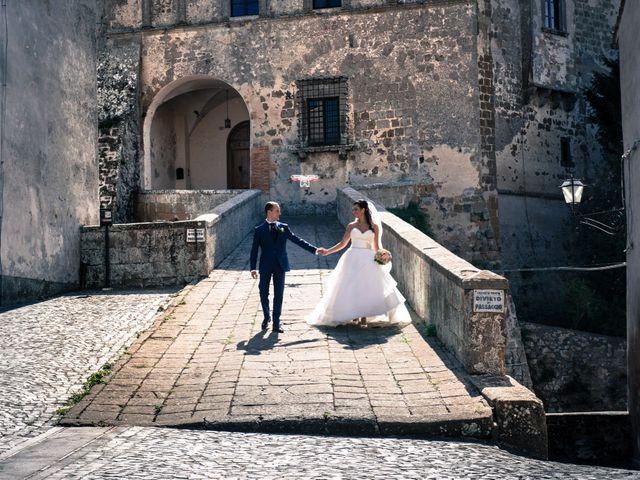 Il matrimonio di Daniele e Valentina a Capodimonte, Viterbo 23