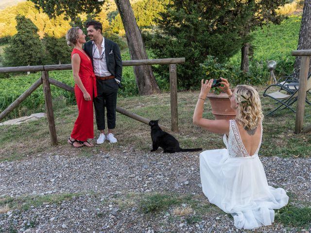 Il matrimonio di Mattias e Eva a Pontassieve, Firenze 57