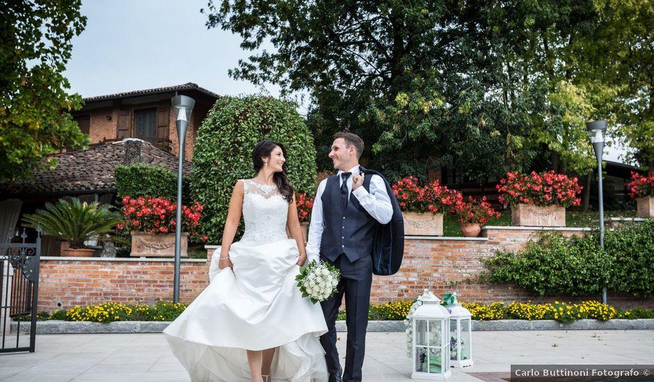Il matrimonio di Omar e Claudia a Fara Gera d'Adda, Bergamo