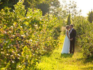 Le nozze di Caroline e Irwin