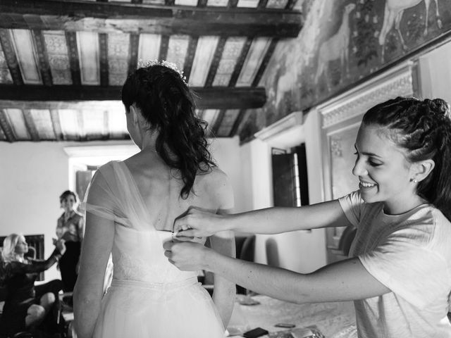 Il matrimonio di Marco e Serena a Gradara, Pesaro - Urbino 19
