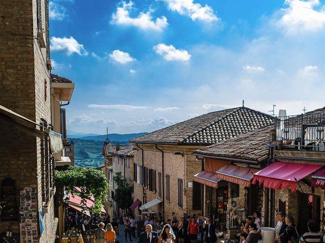 Il matrimonio di Marco e Serena a Gradara, Pesaro - Urbino 26