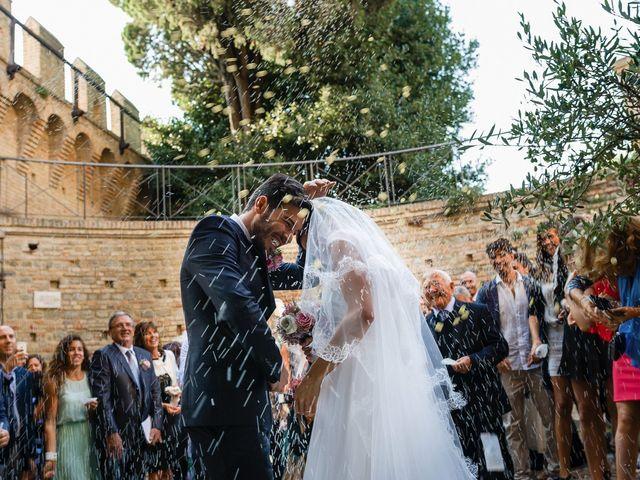 Il matrimonio di Marco e Serena a Gradara, Pesaro - Urbino 38