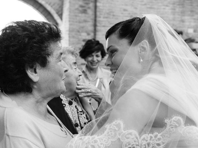 Il matrimonio di Marco e Serena a Gradara, Pesaro - Urbino 40