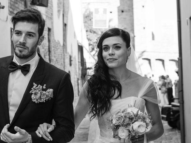 Il matrimonio di Marco e Serena a Gradara, Pesaro - Urbino 41