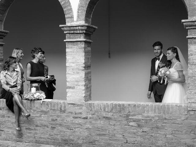 Il matrimonio di Marco e Serena a Gradara, Pesaro - Urbino 44