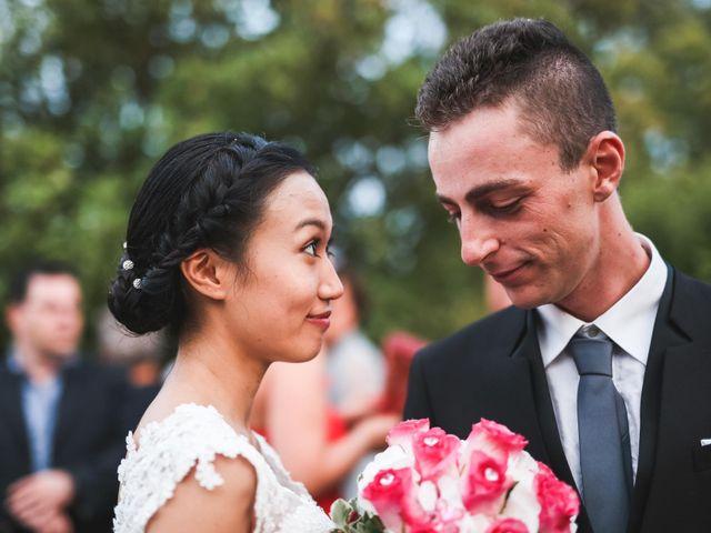 le nozze di Nguyen e Alessio