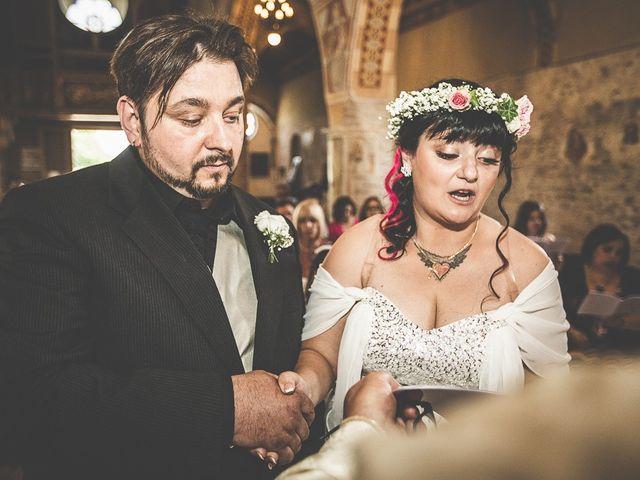 Il matrimonio di Emanuele e Liana a Azzano Mella, Brescia 75