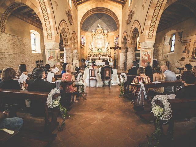Il matrimonio di Emanuele e Liana a Azzano Mella, Brescia 83
