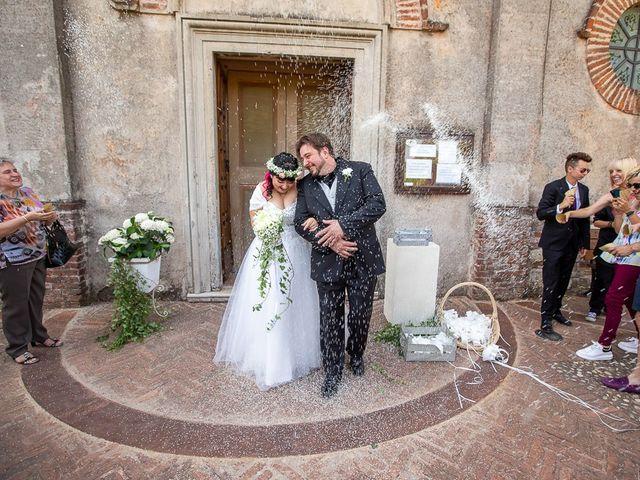 Il matrimonio di Emanuele e Liana a Azzano Mella, Brescia 91