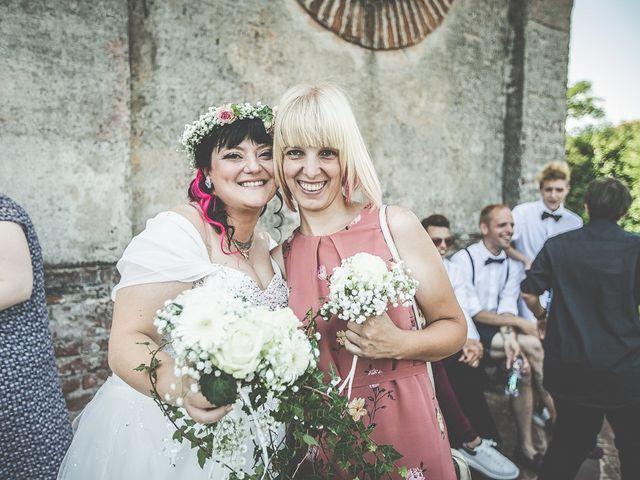 Il matrimonio di Emanuele e Liana a Azzano Mella, Brescia 93