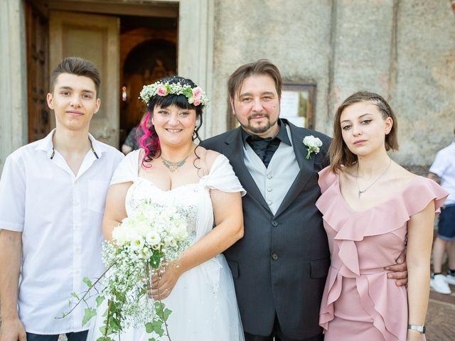 Il matrimonio di Emanuele e Liana a Azzano Mella, Brescia 94