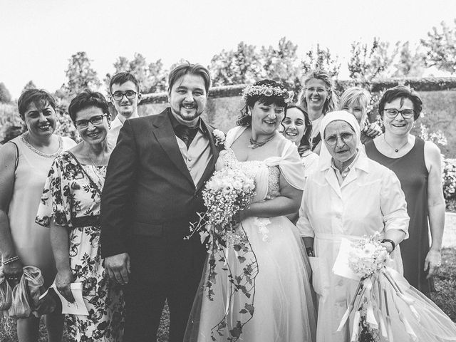 Il matrimonio di Emanuele e Liana a Azzano Mella, Brescia 95