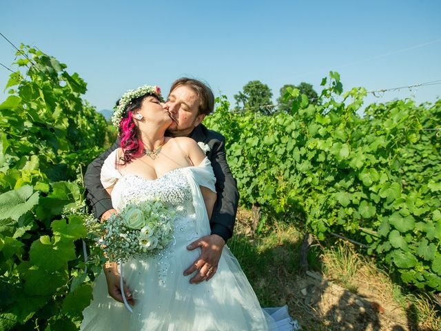 Il matrimonio di Emanuele e Liana a Azzano Mella, Brescia 106