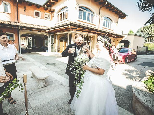 Il matrimonio di Emanuele e Liana a Azzano Mella, Brescia 117