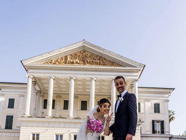 Il matrimonio di Maurizio e Francesca a Roma, Roma 27