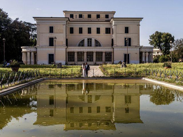 Il matrimonio di Maurizio e Francesca a Roma, Roma 36